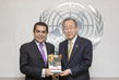 Secretary-General Meets High Representative for Alliance of Civilizations