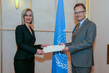 New Permanent Representative of Hungary to UNOG Presents Credentials