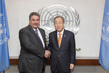 Secretary-General Meets Sports Minister of Azerbaijan