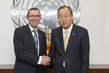 Secretary-General Meets His Special Adviser on Cyprus