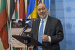 Permanent Representative of Israel Speaks to Press