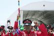 Somali National Army Band Greets Secretary-General in Mogadishu 2.29161