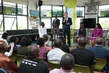 Secretary-General Visits Offices of Ushahidi, iHub in Nairobi