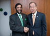 Secretary General Meets with Chair of Intergovernmental Panel on Climate Change (IPCC) 7.3294315