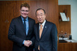Secretary-General Meets Danish Minister for Climate, Energy and Building 7.3294315