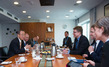Secretary-General Meets with Danish Minister for Climate, Energy, and Building 7.3294315