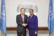Secretary-General Meets New Permanent Observer of CARICOM 2.8636289