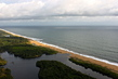 Aerial View of Monrovia Beach 8.091651