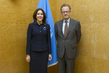 Acting Head of UNOG Meets Crown Princess of Denmark 7.228573