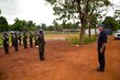 MINUSCA Police Commissioner Visits Rwandan Battalion in Bangui 5.0536237