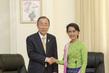 Secretary-General Meets Opposition Leader of Myanmar 3.7593732