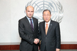 Secretary-General Meets President of Conference of Parties to UN Framework Convention on Climate Change