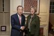 Secretary-General Meets President of Harvard University 3.763391