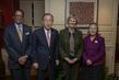 Secretary-General Meets Harvard University President and Head of Harvard Foundation 3.763391