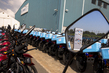 Germany Donates 400 Motor Bikes for Ebola Response 1.0