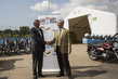 Germany Donates 400 Motor Bikes for Ebola Response 3.4219117