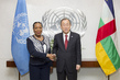Secretary-General Meets Interim President of the Central African Republic 2.8638
