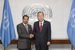 Secretary-General Meets Minister of Information of Oman 2.8641653