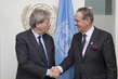 Deputy Secretary-General Meets Italian Foreign Minister 7.2281194