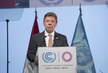 Colombian President Addresses Lima Climate Change Conference 4.610501