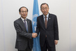 Secretary-General Meets Environment Minister of Republic of Korea in Lima 2.29104