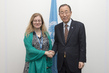 Secretary-General Meets Executive Director of Green Climate Fund 2.29104