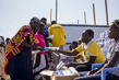 IOM Distributes Soap at UNMISS Base in Malakal, South Sudan 4.2167225