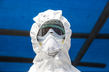 Health Worker at Ebola Isolation Ward in Kabala, Sierra Leone 3.418422