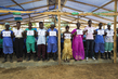 Ebola Survivors Welcome Secretary-General in Sierra Leone