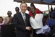 Secretary-General Meets Ebola Survivor Nurse in Sierra Leone