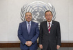 Secretary-General Meets Incoming Head of Mali Mission