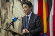 Representative of Republic of Korea Speaks to Press on Situation in DPRK