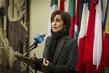 Permanent Representative of Jordan Speaks to Press 0.6470271
