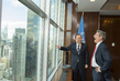 Secretary-General Meets President of New York Academy of Sciences 2.8612473