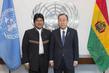 Secretary-General Meets President of Bolivia 2.860887