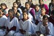 Young Women at Sabarmati Gandhi Ashram, India 3.4209812
