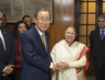 Secretary-General Meets Speaker of Lower House of Indian Parliament 2.288943