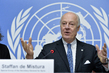Special Envoy for Syria Holds Press Conference 3.1850984