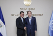 Secretary-General Meets Minister of Foreign Affairs of El Salvador 2.2888904