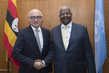 General Assembly President Meets Minister of Foreign Affairs of Argentina 7.217556