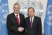 Secretary-General Meets Minister of Foreign Affairs, Bosnia and Hezegovina 2.860887