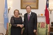 Secretary-General Hosts Dinner for President of Chile 2.860887