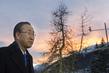 Secretary-General Arrives in Davos 3.7572656
