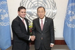 Secretary-General Meets Defense Minister of Colombia
