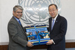 Secretary-General Meets Permanent Representative of India 2.860887