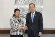 Secretary-General Meets Permanent Representative of Turkmenistan