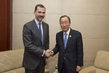 Secretary-General Meets King of Spain in Addis Ababa 1.0