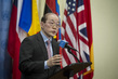 Security Council President Speaks to Press on Syria 0.8987448