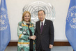 Secretary-General Meets Head of Asia Society 2.857238