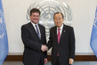 Secretary-General Meets Deputy Prime Minister of Slovakia 2.857249